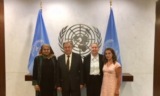 UNSU Meeting with Secretary-General Guterres
